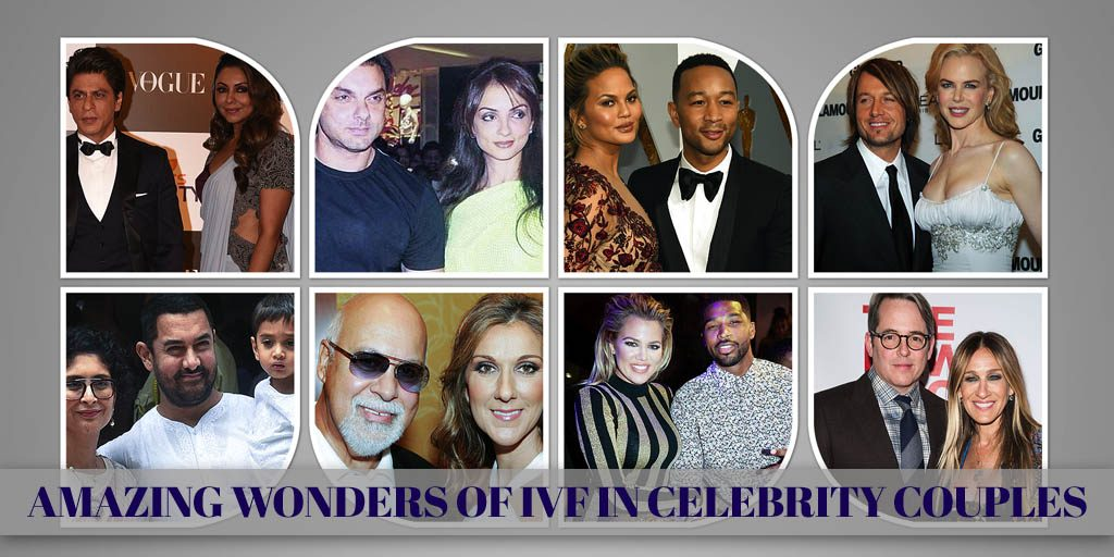 Amazing Wonders of IVF in Celebrity Couples