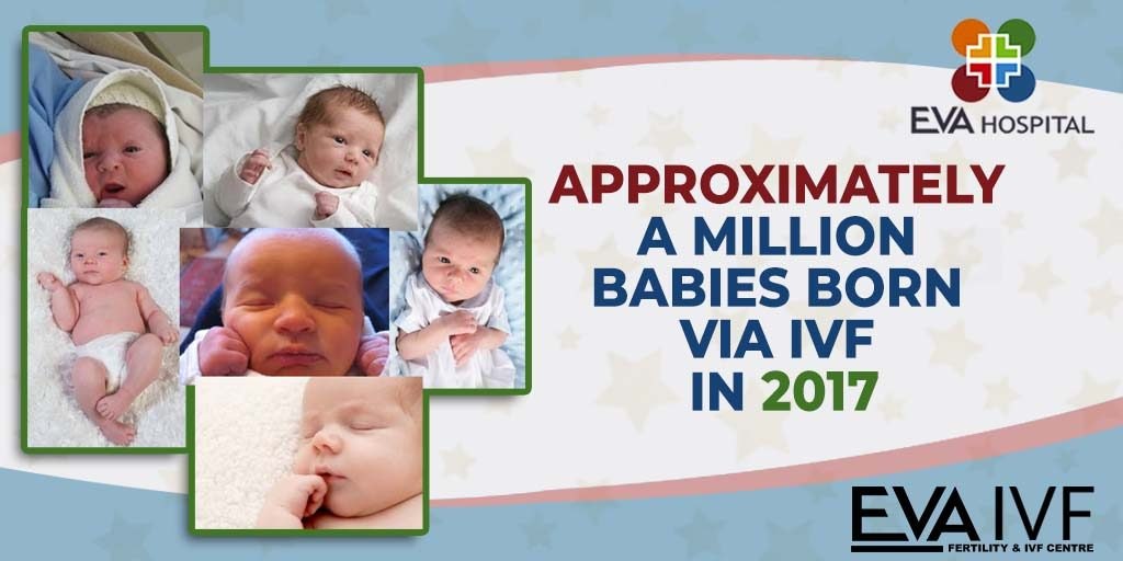 Approximately a Million Babies Born Via IVF in 2017