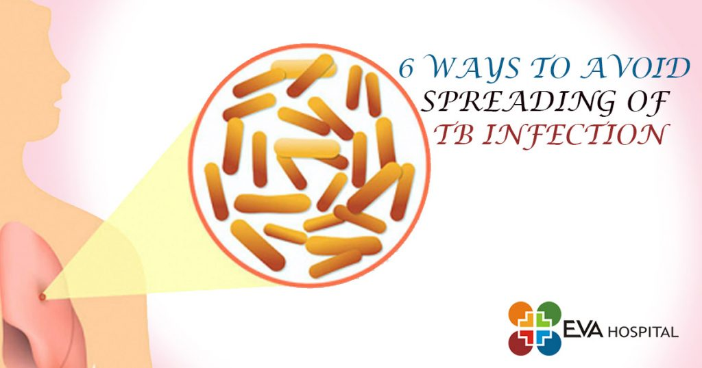 6 ways to avoid spreading of TB infection