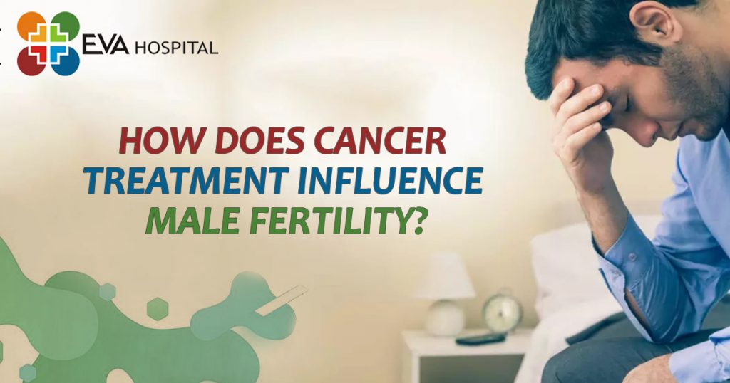 How does cancer treatment influence male fertility