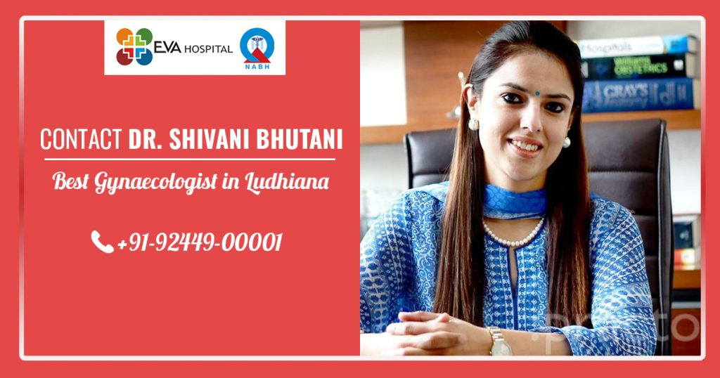 Contact Dr. Shivani Bhutani - best gynaecologist in Ludhiana