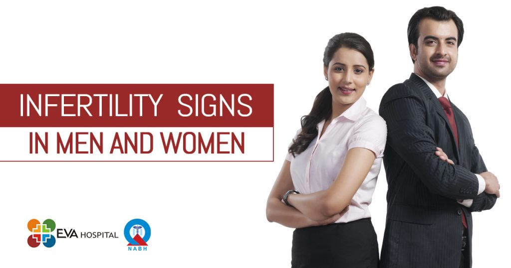 Infertility signs in men and women